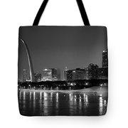 Saint Louis Skyline Tote Bag