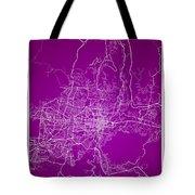 San Salvador Street Map - San Salvador El Salvador Road Map Art  Tote Bag