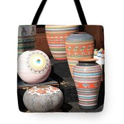 Santa Fe - Pottery Tote Bag