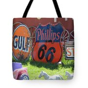 Scenes From An Antique Store In South Dakota Tote Bag