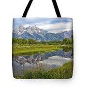 Schwabacher Landing - Grand Tetons Tote Bag