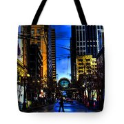 Seattle Streets Tote Bag