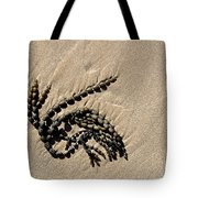 Seaweed On Beach Tote Bag