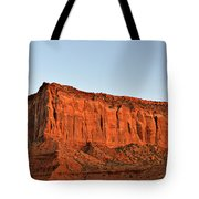 Sentinel Mesa Monument Valley Tote Bag by Christine Till