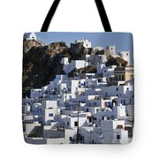 Serifos Town Tote Bag