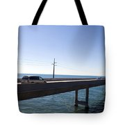 Seven Mile Bridge Florida Keys Tote Bag