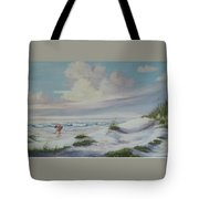 Shadows In The Sand Dunes Tote Bag