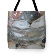 Shells In Bubble Bowl 2 Tote Bag