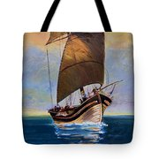 Ship Ahoy Tote Bag