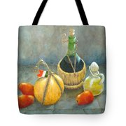 Sicilian Table Tote Bag