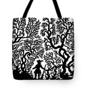Silhouette, 19th Century Tote Bag
