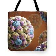 Simian Immunodeficiency Virus Tote Bag