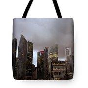 Singapore Cityscape Tote Bag
