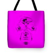 Skull In Purple Tote Bag