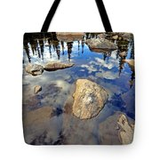 Sky Reflections Tote Bag