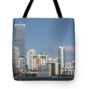 Skyline Miami Tote Bag