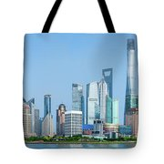Skylines At The Waterfront, Oriental Tote Bag