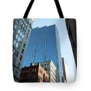 Skyscrapers In A City, Boston Tote Bag