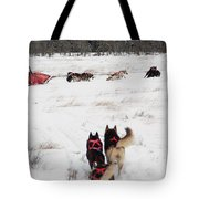Sled Dog Tote Bag