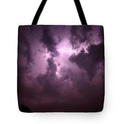 Small But Eruptive Cell North Of Kearney Tote Bag