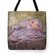 Small Family Tote Bag