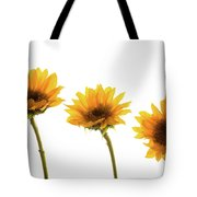 Small Sunflowers Or Helianthus Tote Bag