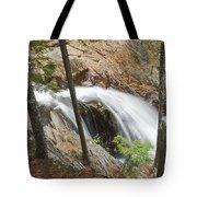 Smalls Falls In Western Maine Tote Bag