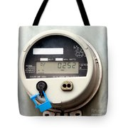 Smart Grid Residential Digital Power Supply Meter Tote Bag