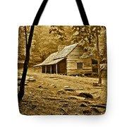Smoky Mountain Cabin Tote Bag