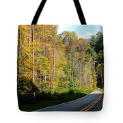 Smoky Mountain Road Trip Tote Bag