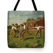 Snap The Whip Tote Bag