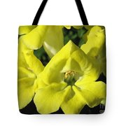 Snapdragon From The Mme Butterfly Mix Tote Bag