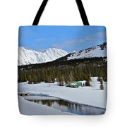 Snow Bound Tote Bag