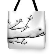 Snow Cover Tote Bag