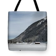 Snowy Meadow Tote Bag