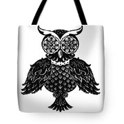 Sophisticated Owls 1 Of 4 Tote Bag