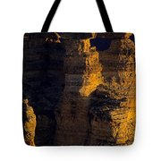 South Rim Grand Canyon Taken Near Mather Point Sunrise Light On  Tote Bag