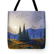 Southern Migration By Moonlight Tote Bag