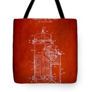 Space Capsule Patent From 1963 Tote Bag by Aged Pixel