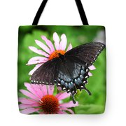 Spicebush Swallowtail Butterfly Tote Bag