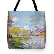 Spring By The Seine Tote Bag