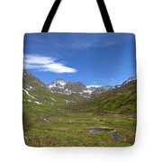 Spring View Tote Bag