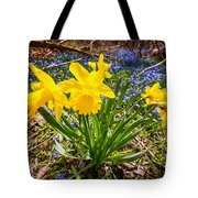 Spring Wildflowers Tote Bag