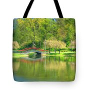 Springtime Reflections Tote Bag