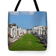 St Louis Cemetery No 3 New Orleans Tote Bag by Christine Till