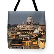 St Peters Basilica Tote Bag