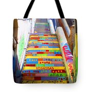 Stairway To Heaven Valparaiso  Chile Tote Bag