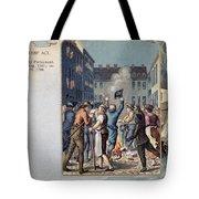 Stamp Act Riot, 1765 Tote Bag