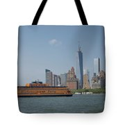 Staten Island Ferry Tote Bag