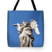 Statue In Vatican City Tote Bag